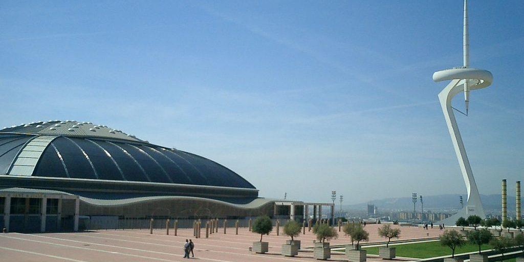 torre montjuic Barcelona